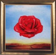 Медитативная роза (по картине С. Дали)