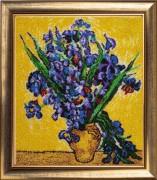 Ирисы по мотивам картины В. Ван Гога